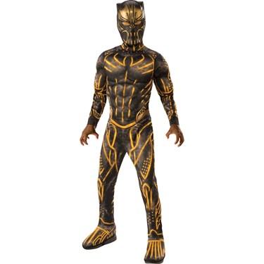 Marvel: Black Panther Movie Deluxe Boys Erik Killmonger Battle Suit Costume