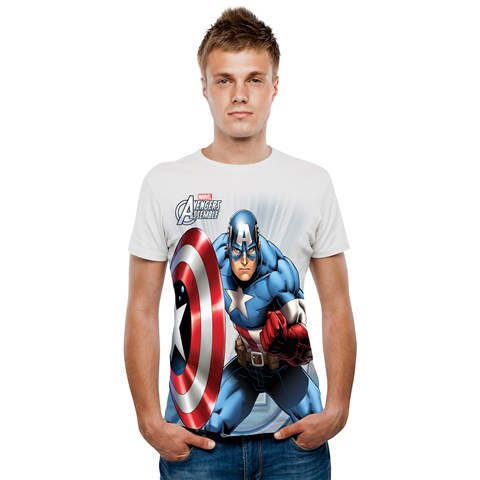 Marvel - Captain America Digital T-Shirt