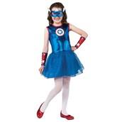 Marvel Captain America Girl Costume