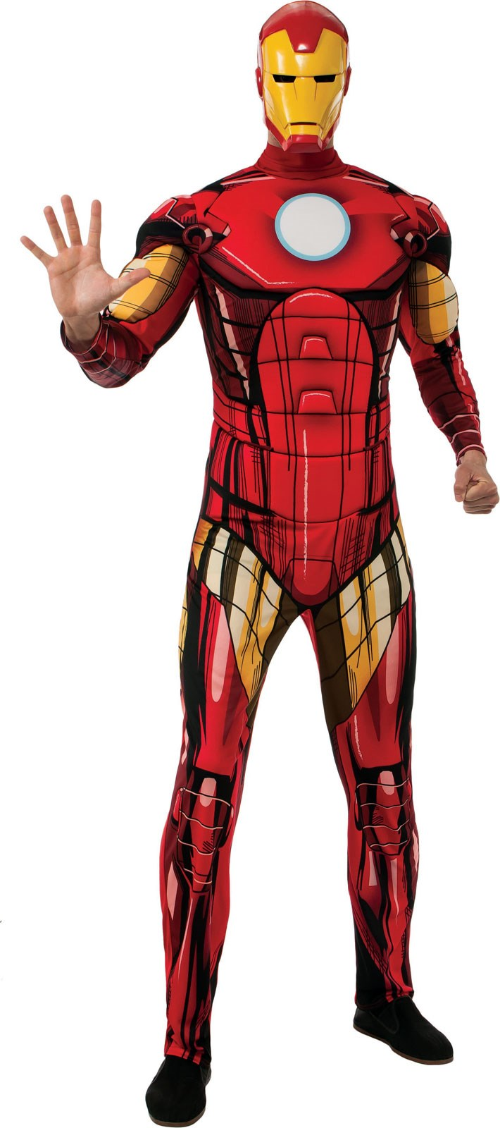 marvel classic deluxe iron man costume. Black Bedroom Furniture Sets. Home Design Ideas