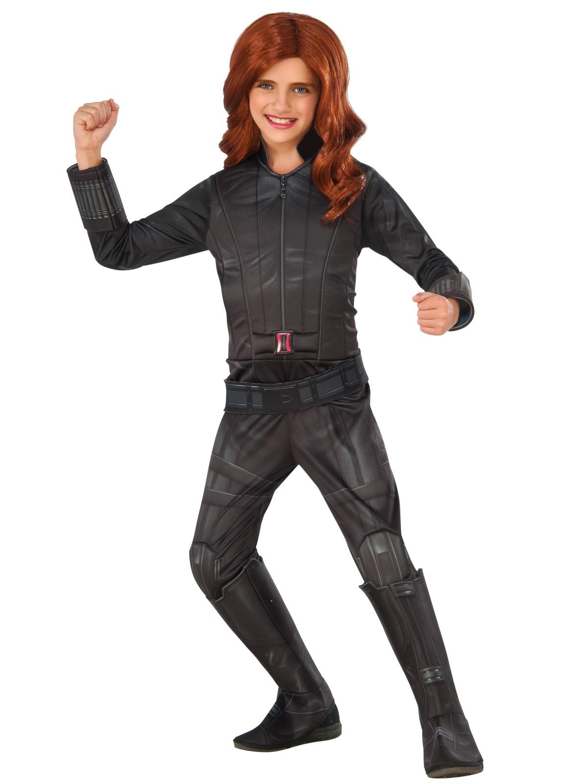 Marvel S Captain America Civil War Deluxe Girls Black