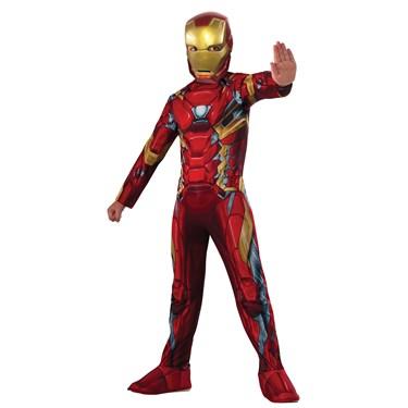 Marvel's Captain America: Civil War - Iron Man Costume for Kids