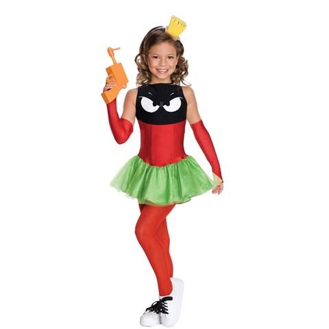 Marvin the Martian Girl Child Costume