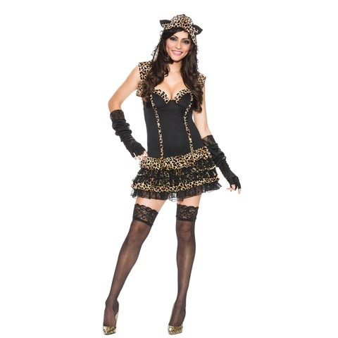 Me-oww Leopard Print Womens Cat Costume