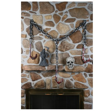 Meat Hook Chain Garland