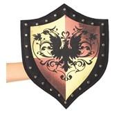Medieval Studded Shield Purse