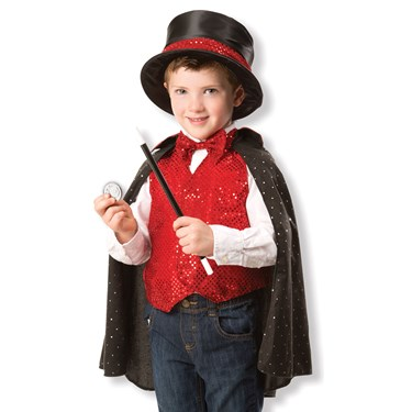 Melissa & Doug Magician Dress-Up Costume