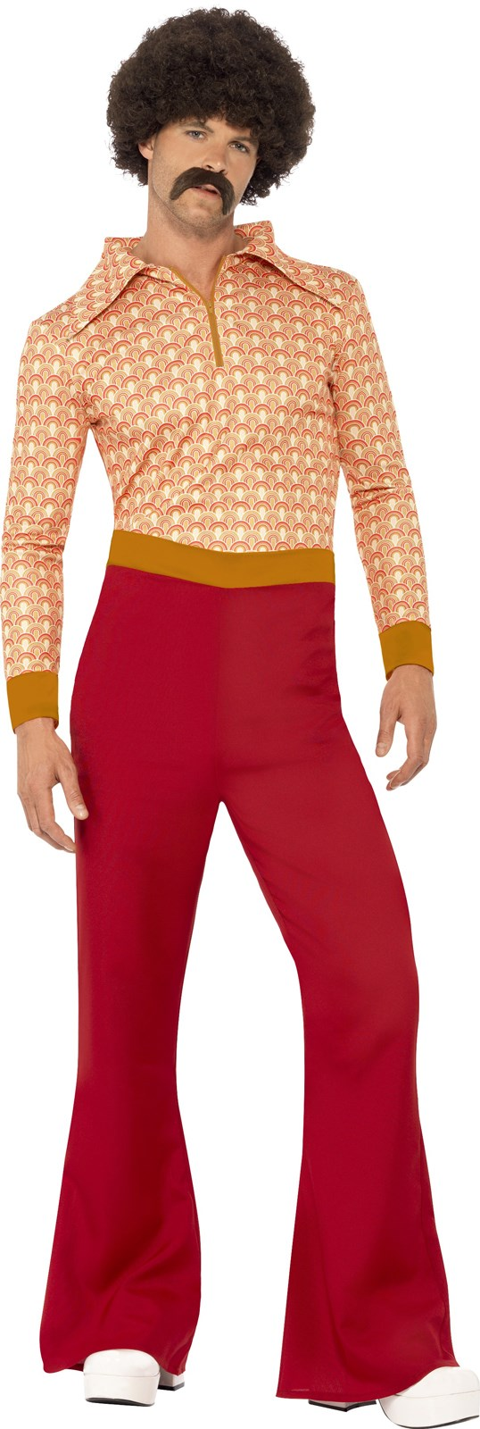 Mens Authentic 70s Guy Costume