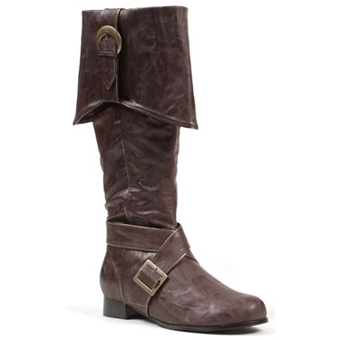 Men's Brown Pirate Boots