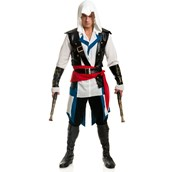 Mens Cutthroat Assassin Pirate Costume For Adults
