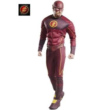 Men's Deluxe Flash Adult Costume