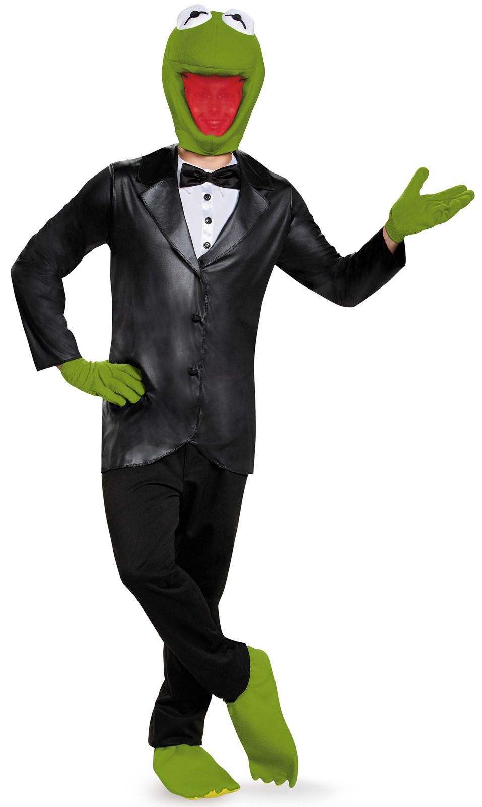 Mens Deluxe Kermit Costume