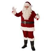 Mens Deluxe Santa Suit