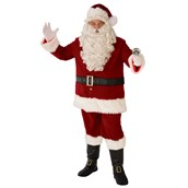 Mens Deluxe XL Santa Suit
