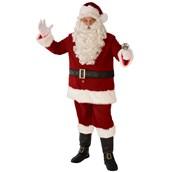 Mens Deluxe XXL Santa Suit
