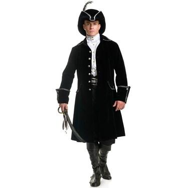Men's Distinguished Pirate Jacket Costume