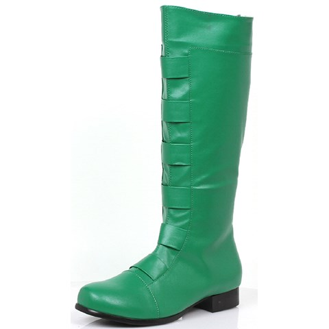 Men's Green Costume Boots