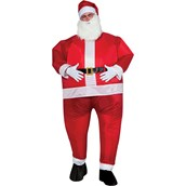 Mens Inflatable Santa Costume