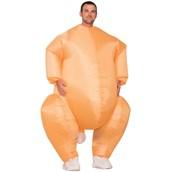 Mens Inflatable Turkey Costume