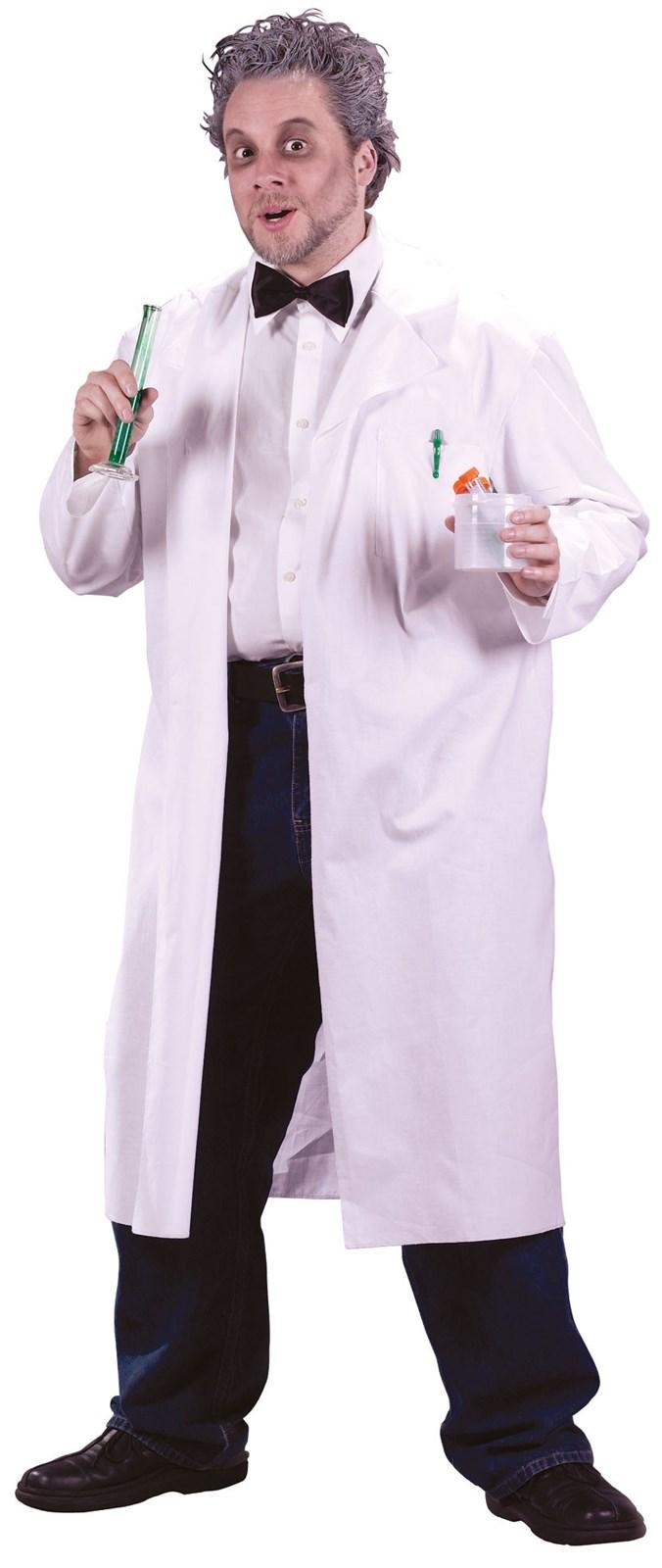 Mens Mad Scientist Lab Coat
