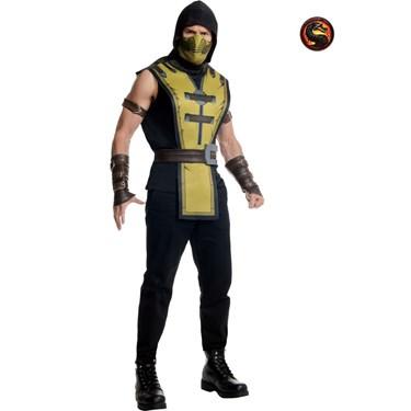 Men's Mortal Kombat Scorpion Adult Costume