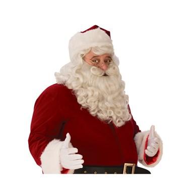 Mens Premium Santa Beard and Wig