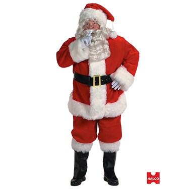 Mens Professional Santa Suit