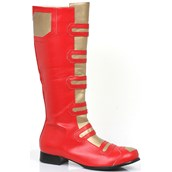 Men's Red Superhero Boots