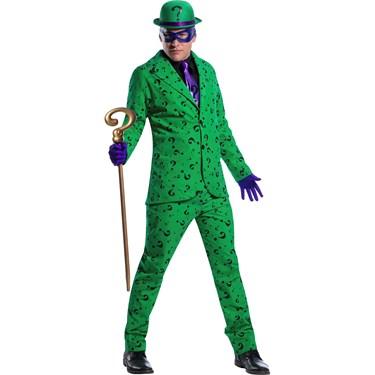 Mens Riddler Costume