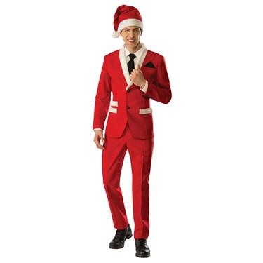 Mens Santa Tuxedo Costume