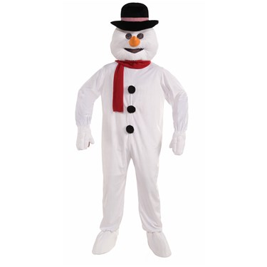 Mens Snowman Mascot