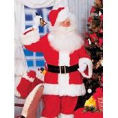 Mens Super Deluxe Velvet Santa Suit