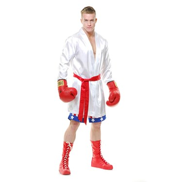 Mens The Boxer Costume