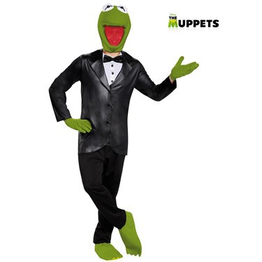 Men's The Muppet's Kermit Deluxe Costume