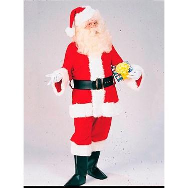 Mens XXXL Professional Velvet Santa Suit