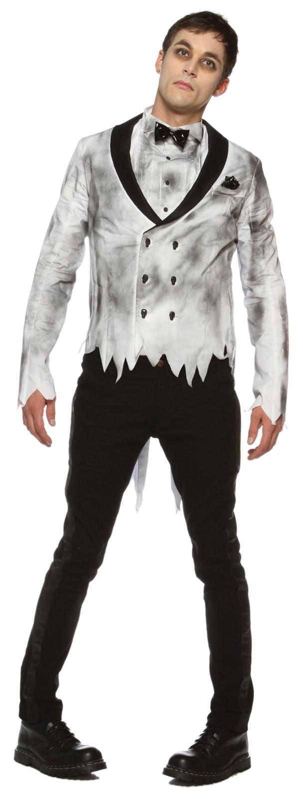 Mens Zombie Groom Costume