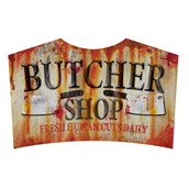 Metal Sign - Butcher Shop