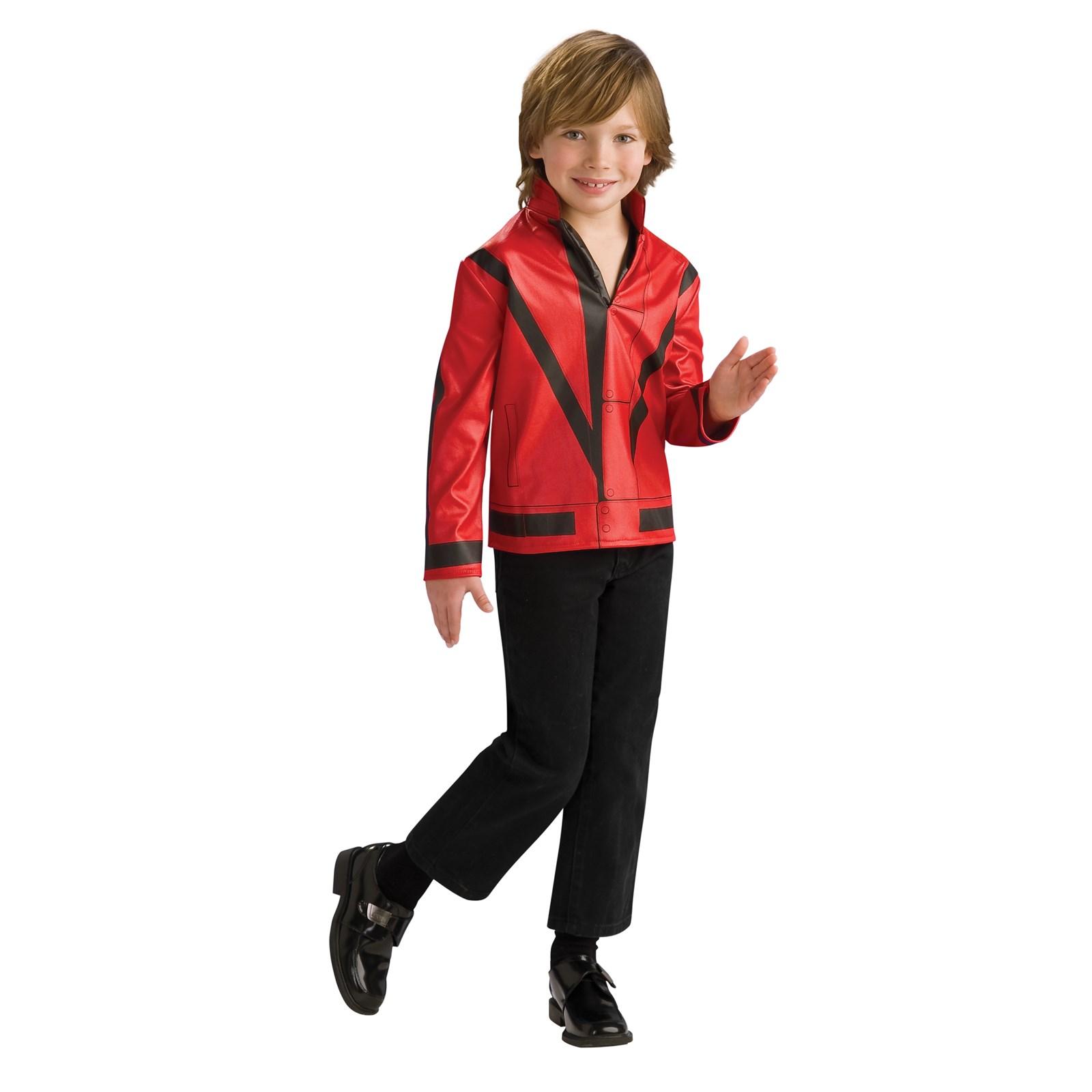 Michael Jackson Child Thriller Jacket Child   BuyCostumes.com