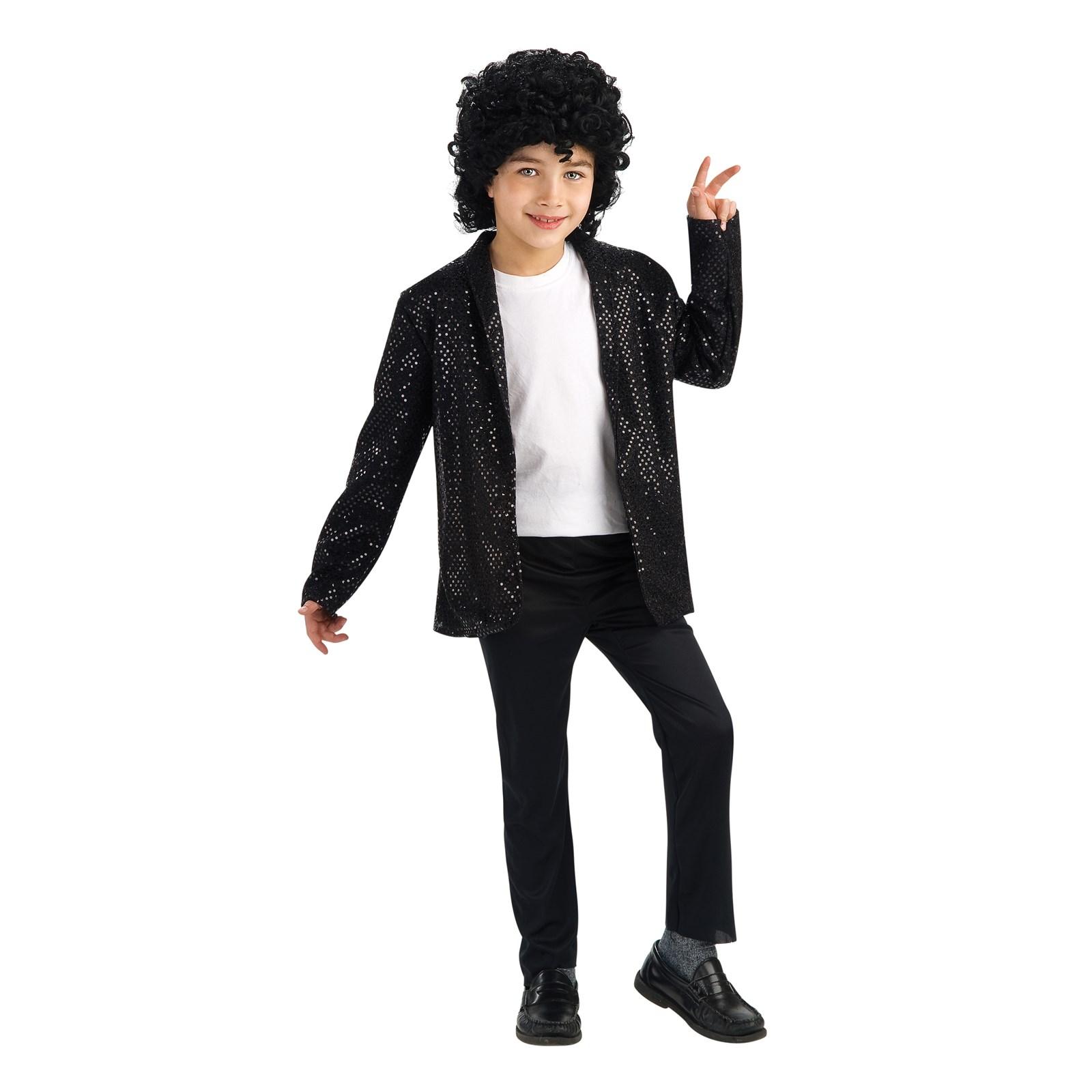 Michael Jackson Deluxe Billie Jean Jacket Child | BuyCostumes.com