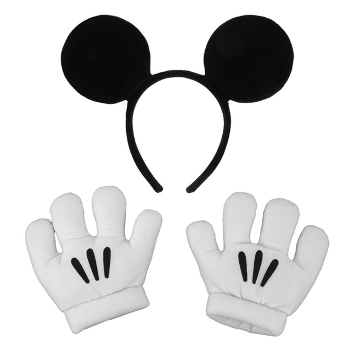 Mickey mouse hand signs c