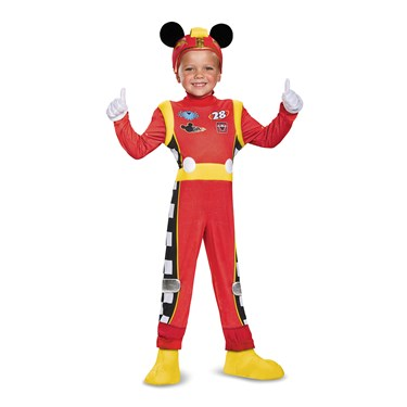 Mickey Roadster Deluxe Toddler Costume