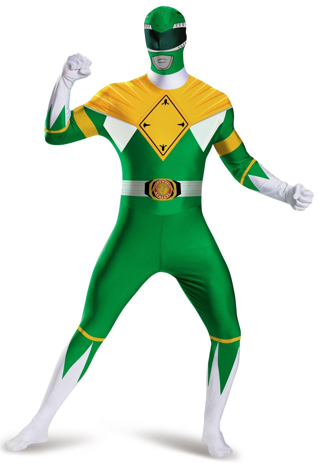 Mighty Morphin Power Rangers: Green Ranger Bodysuit Costume For Teens