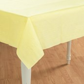 Mimosa (Light Yellow) Paper Tablecover