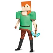 Minecraft Alex Deluxe Child Costume
