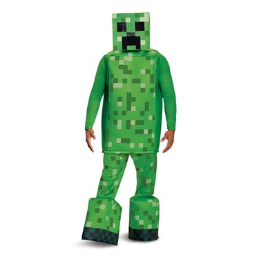 Minecraft Creeper Prestige Adult Costume