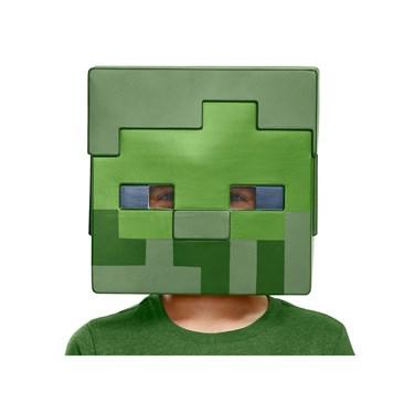 Minecraft  Zombie Child Half Mask
