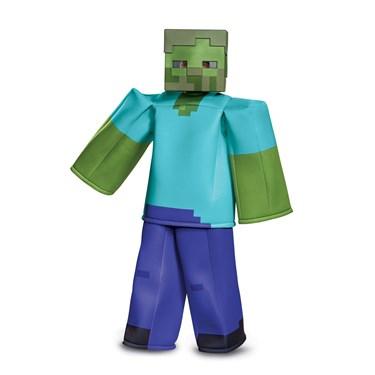 Minecraft  Zombie Prestige Child Costume