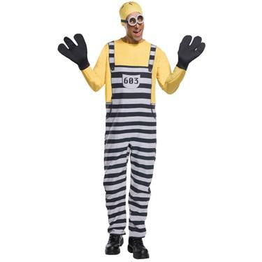 Minion Jail Tom Adult Costume