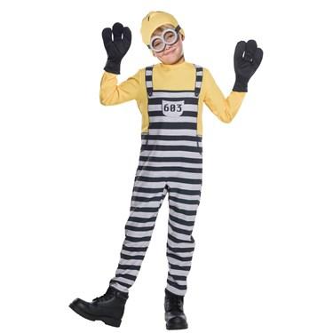 Minion Jail Tom Child Costume