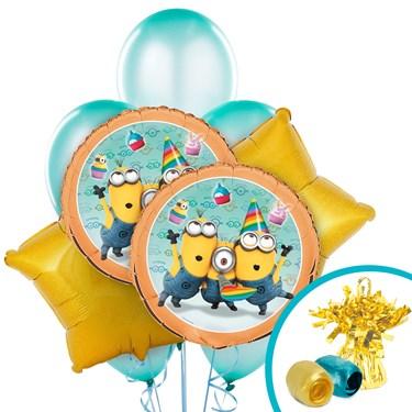 Minions Despicable Me - Decorative Balloon Bouquet Kit